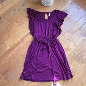 Xhilaration medium maroon dress